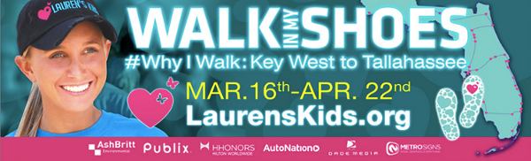 Walk In My Shoes 2014 Lauren's Kids