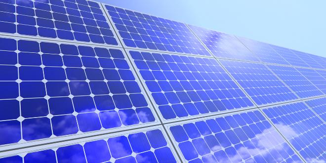 green energy solar panel icon