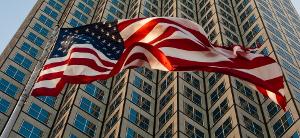 Craig Studnicky icon skyscraper with flag