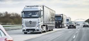commercial real estate outlook icon trucks on highway