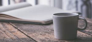 thomas handler icon mug with book