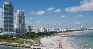 Akhil Patel icon miami beach sunny skyline