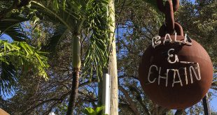 BALL & CHAIN sign miami